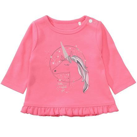 STACCATO Girl s camisa de manga larga rosa brillante
