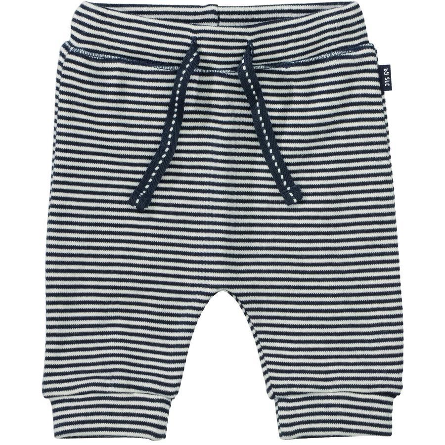 STACCATO Pantalon de survêtement structure marine foncé