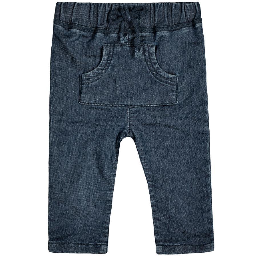 STACCATO Boys spodnie dresowe z niebieskiego denimu