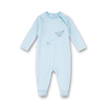 Sanetta Pyjama's Strepen blauw ijs