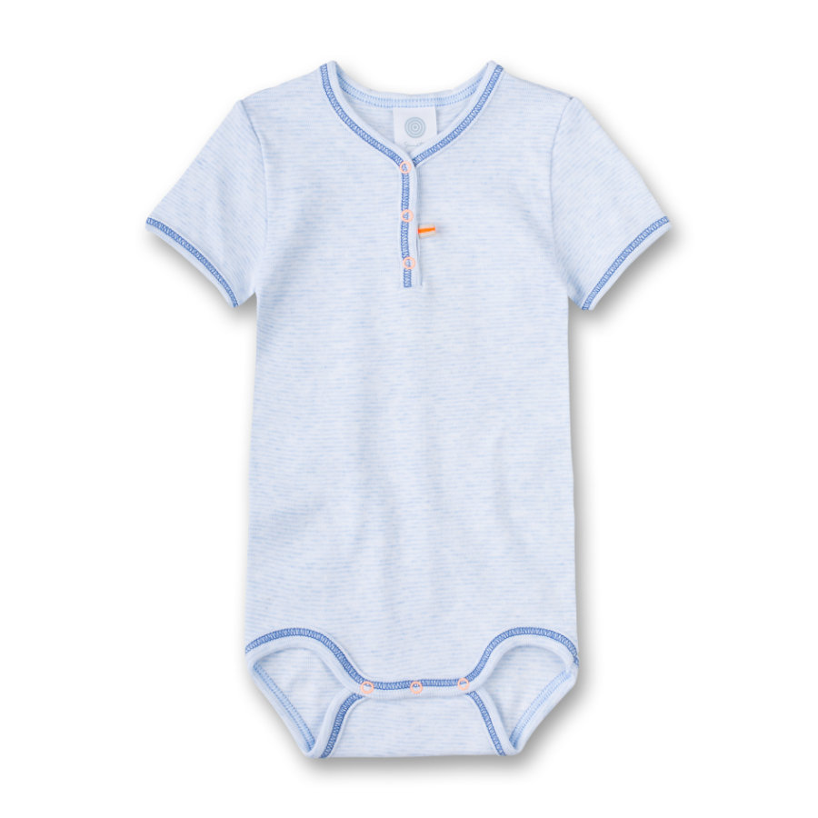 Sanetta Boys T-Shirt -Body Stripes bleu melange