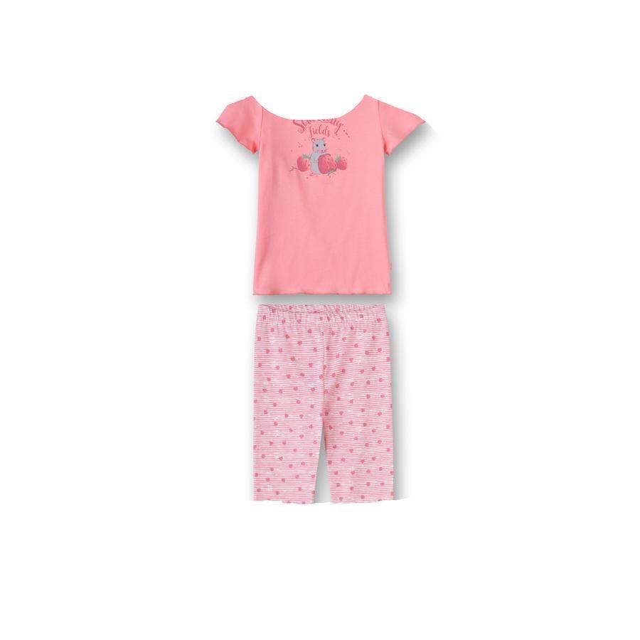 Sanetta Pyjama fraise et corail de souris