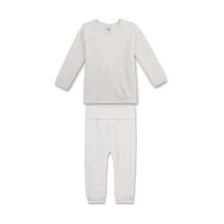 Sanetta Pyjama cassé blanc