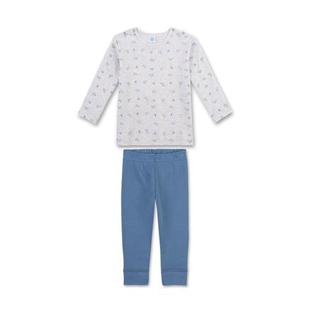 Sanetta Schlafanzug mit Autos ecru melange