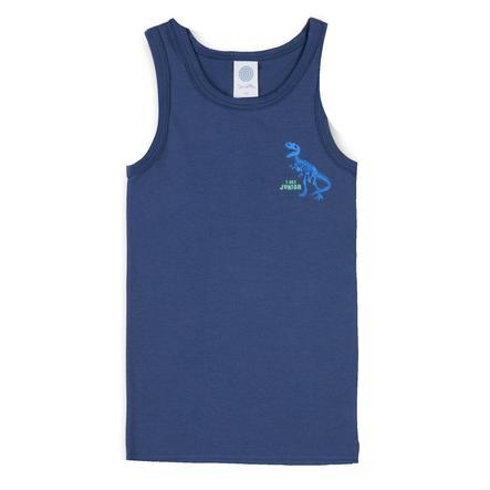 Sanetta Unterhemd Dinosaurier Washed Blue