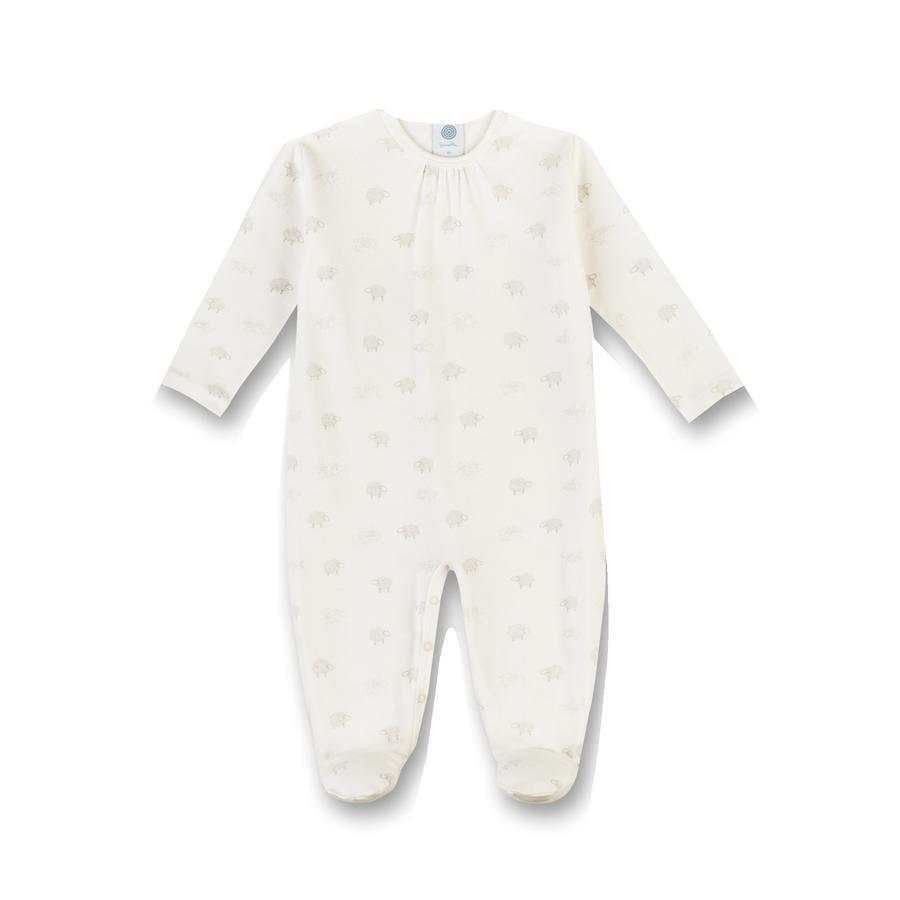 Sanetta Pyjama avec mouton cassé blanc