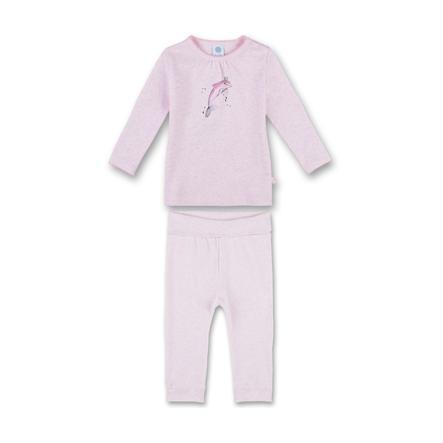 Sanetta Pyjama's Dolfijn magnolia melange