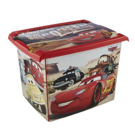 keeeper Deko-Box Cars rot mit Deckel