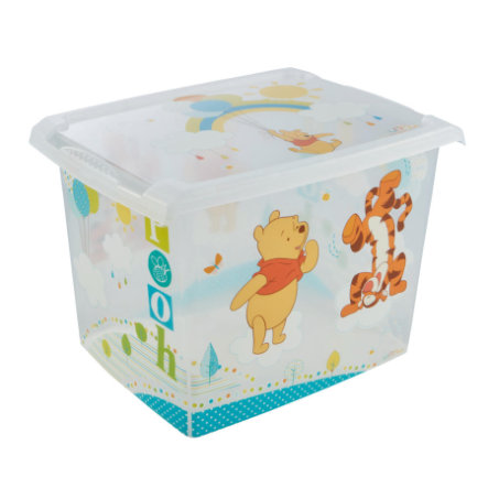 keeeper Deko-Box mit Deckel Winnie transparent