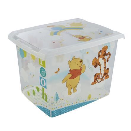 keeeper Dekorativní krabička s víkem Winnie transparentní