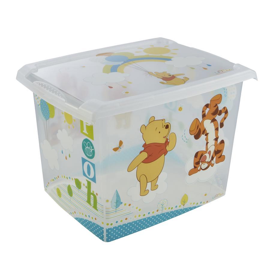keeeper Scatola decorativa con coperchio, Winnie Pooh trasparente
