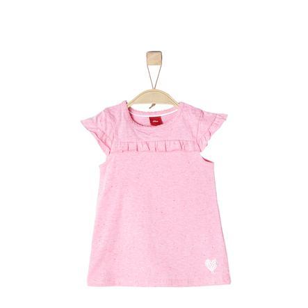 s.Oliver Girl s robe rose pâle melange