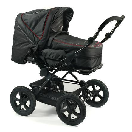 CHIC 4 BABY Kombi-Kinderwagen VIVA Jeans black