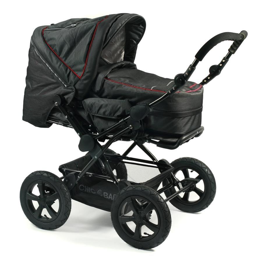 CHIC 4 BABY Cochecito combinado VIVA Jeans black