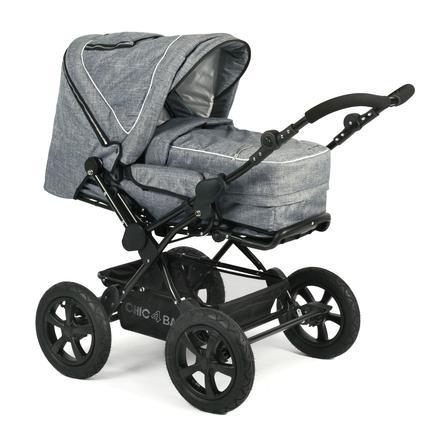 CHIC 4 BABY Kombi-Kinderwagen VIVA Jeans blue