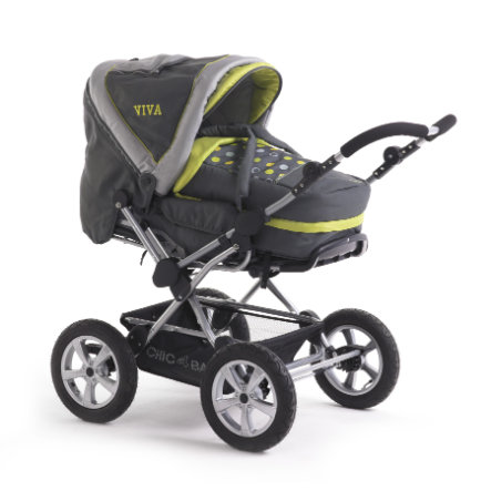 CHIC 4 BABY Kombi-Kinderwagen VIVA Lemmontree