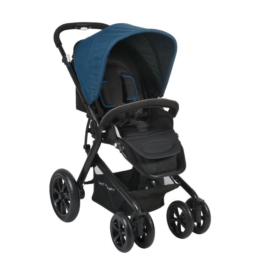 CHIC 4 BABY Sportwagen PRONTO Melange blue
