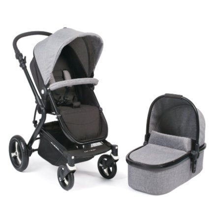 CHIC 4 BABY Kombi-Kinderwagen PASSO Jeans grey