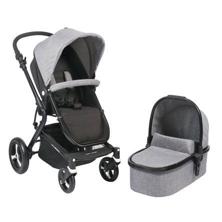 CHIC 4 BABY Kombibarnevogn PASSO Jeans grey