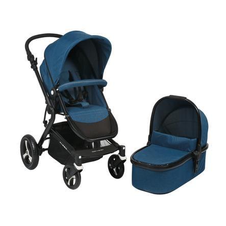CHIC 4 BABY Kombi-Kinderwagen PASSO Melange blue