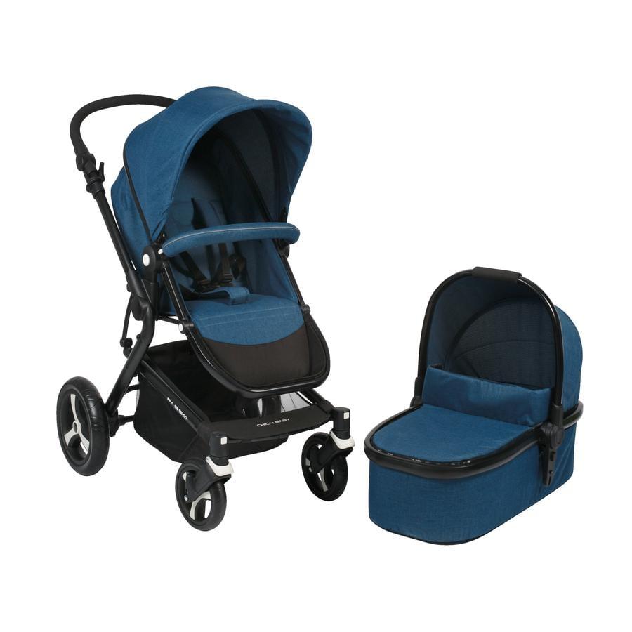 CHIC 4 Baby Passo 2018 Melange blue