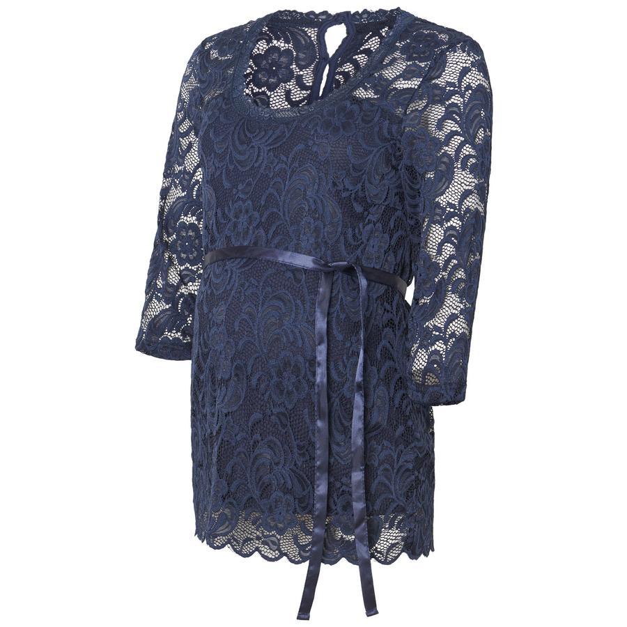 Mama licious těhotenská košile MLMIVANA Navy Blazer