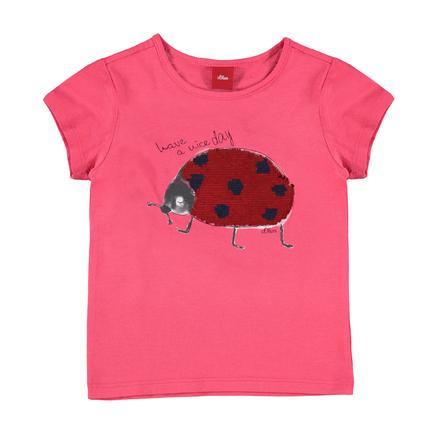 s.Oliver Girl s T-Shirt rojo
