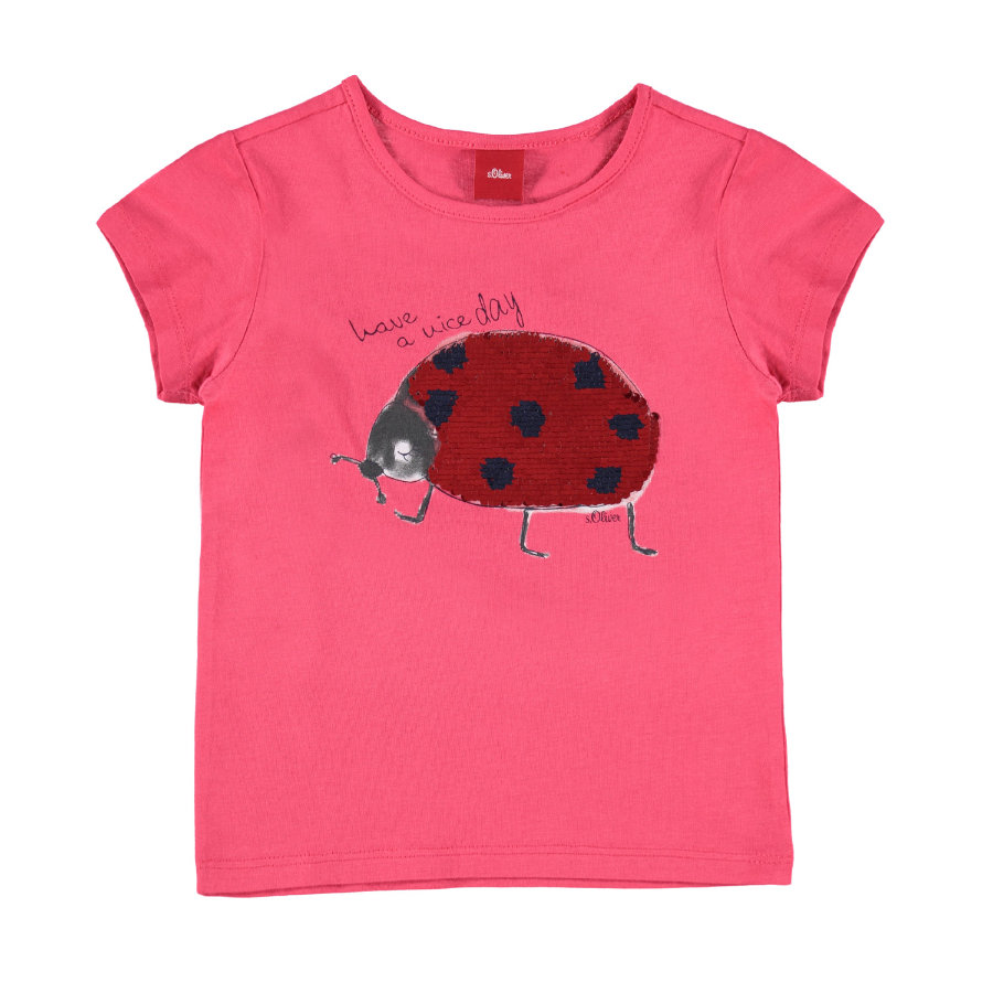 s.Oliver Girl s T-Shirt rouge