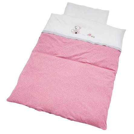 Collection Ropa Oskar rosa de cama de Be Be Žs 100 x 135 cm