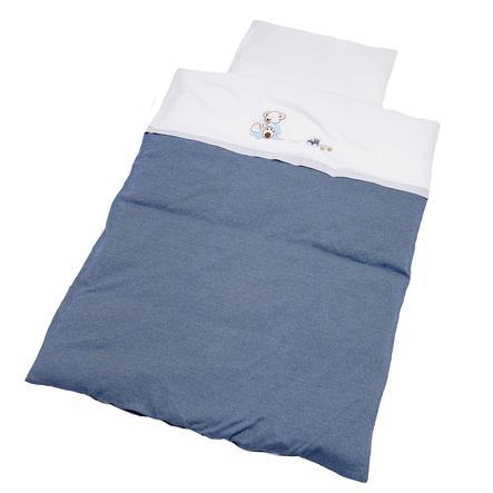 Be Be 's Collection ložní prádlo Oskar, 100 x 135 cm, modrá
