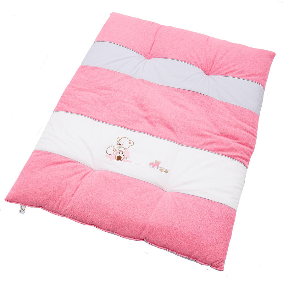 Be' s Be' s Crawling Collection Blanket Oskar rosa 100 x 135 cm
