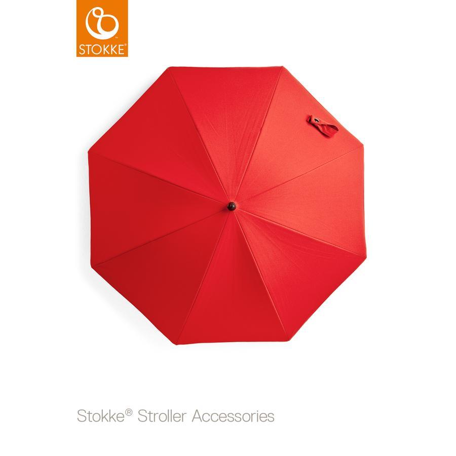 STOKKE® Kinderwagen Sonnenschirm Rot 50+ UV-Schutz