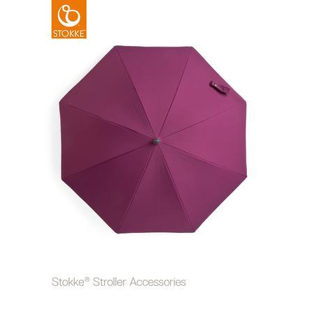 STOKKE® Kinderwagen Sonnenschirm Brombeer 50+ UV-Schutz