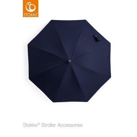STOKKE® Kinderwagen Sonnenschirm Deep Blue 50+ UV-Schutz