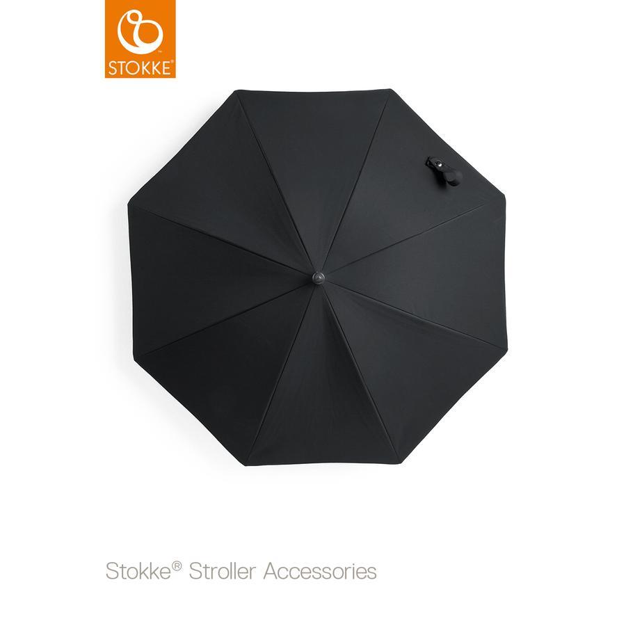 STOKKE® Kinderwagen Sonnenschirm Black 50+ UV-Schutz