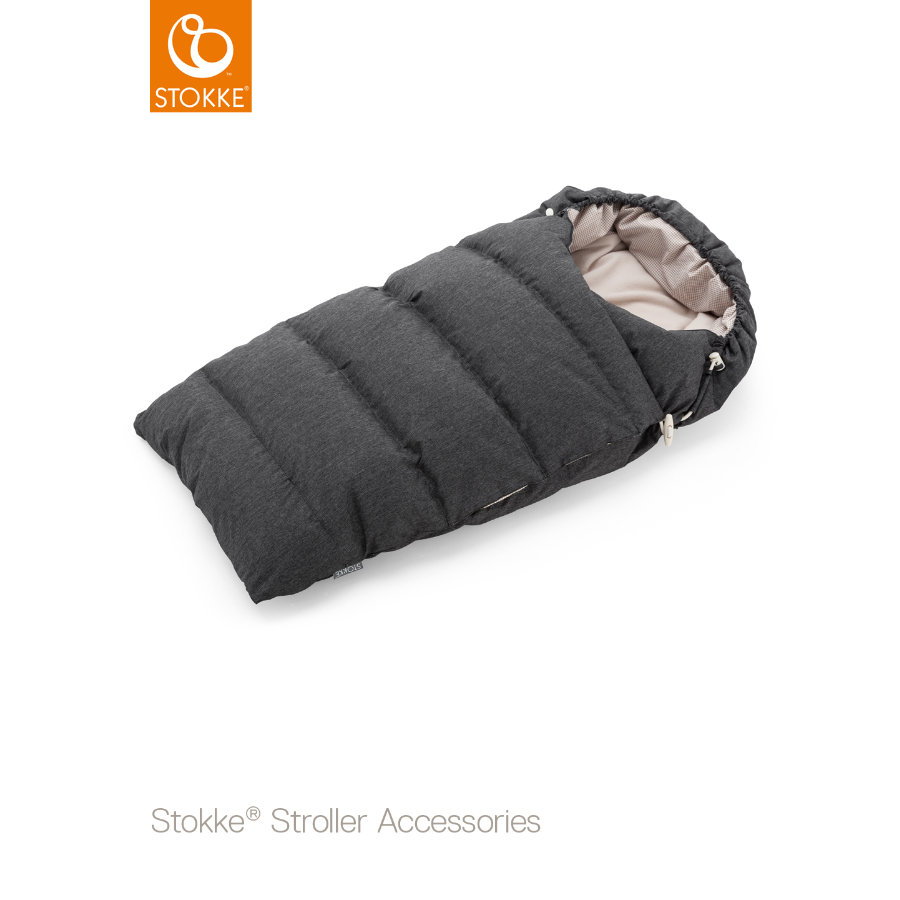 STOKKE® Daunenschlafsack Onyx Black
