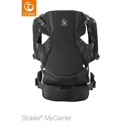 STOKKE® MyCarrier™ Bauchtrage black mesh