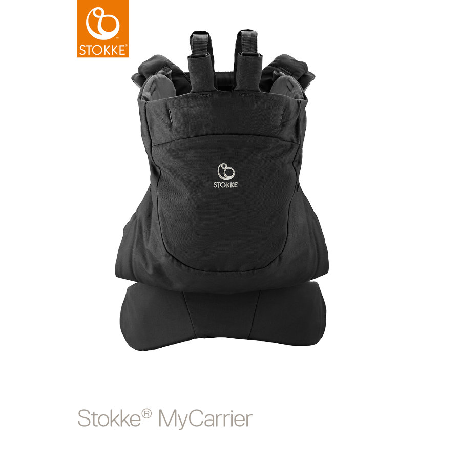 STOKKE® Rückentrage MyCarrier™ Black