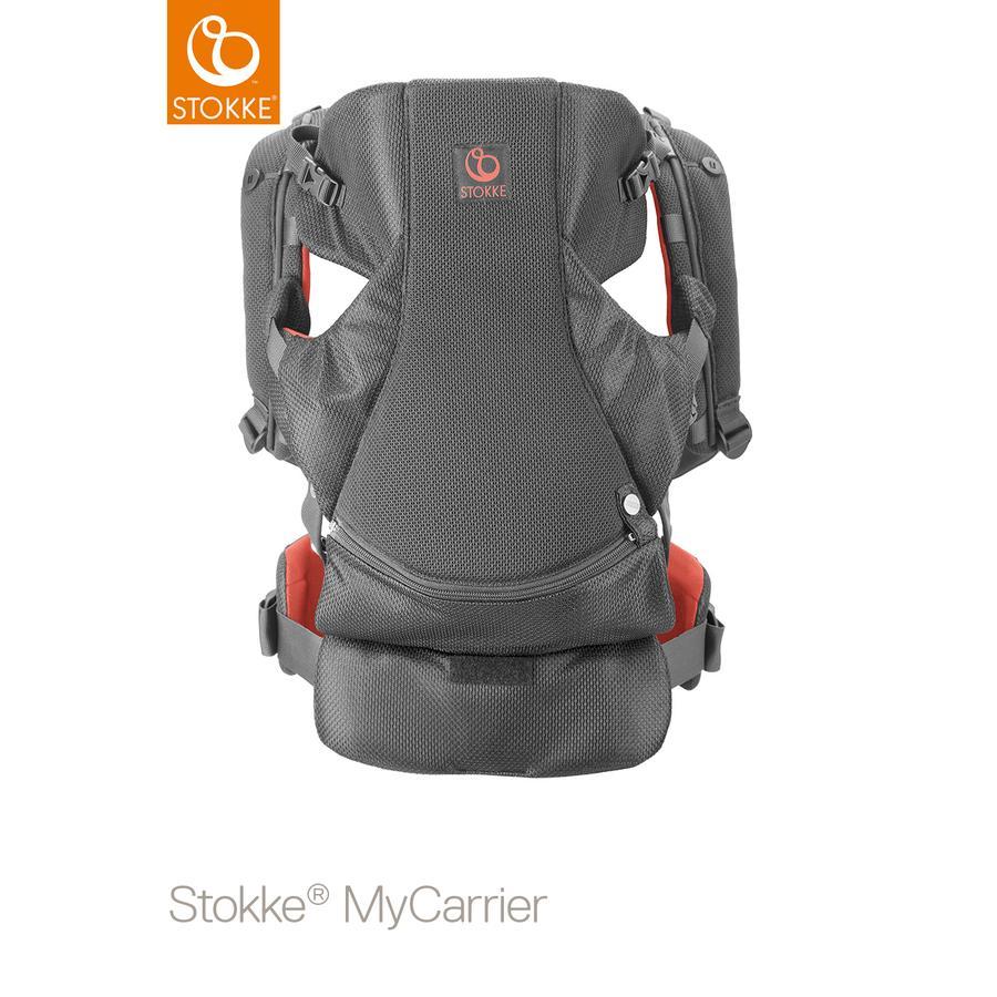 STOKKE® MyCarrier™ Bauch -und Rücktrage coral mesh