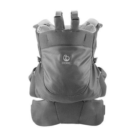 STOKKE® MyCarrier™ Bauch -und Rücktrage grey mesh