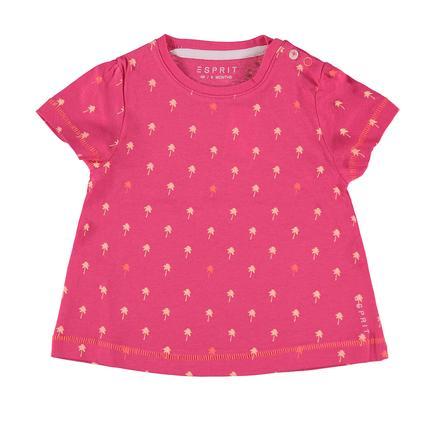 ESPRIT Girl s T-Shirt rouge rosé