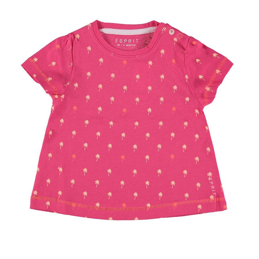 ESPRIT Girl s T-Shirt roze-rood