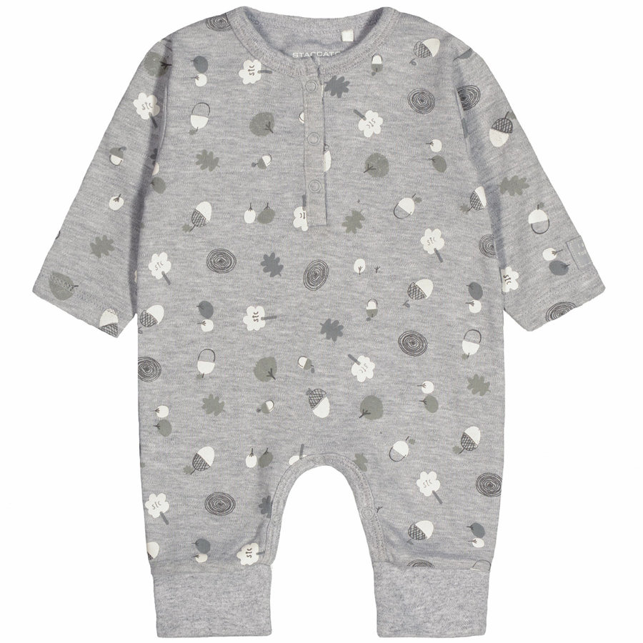 STACCATO Baby Overall grey melange