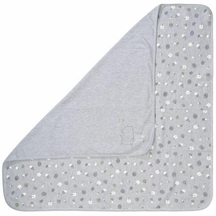 STACCATO grey Mélange de couvertures 80 x 80 cm