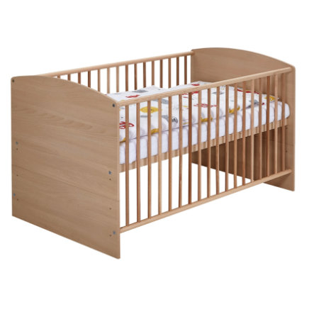 SCHARDT Lit bébé évolutif CLASSIC HÊTRE, 70 x 140 cm