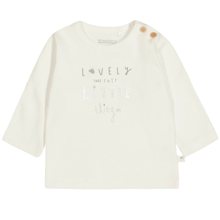 STACCATO Langarmshirt offwhite