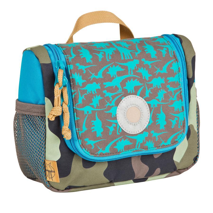 LÄSSIG Zaino Mini Backpack Dino slate
