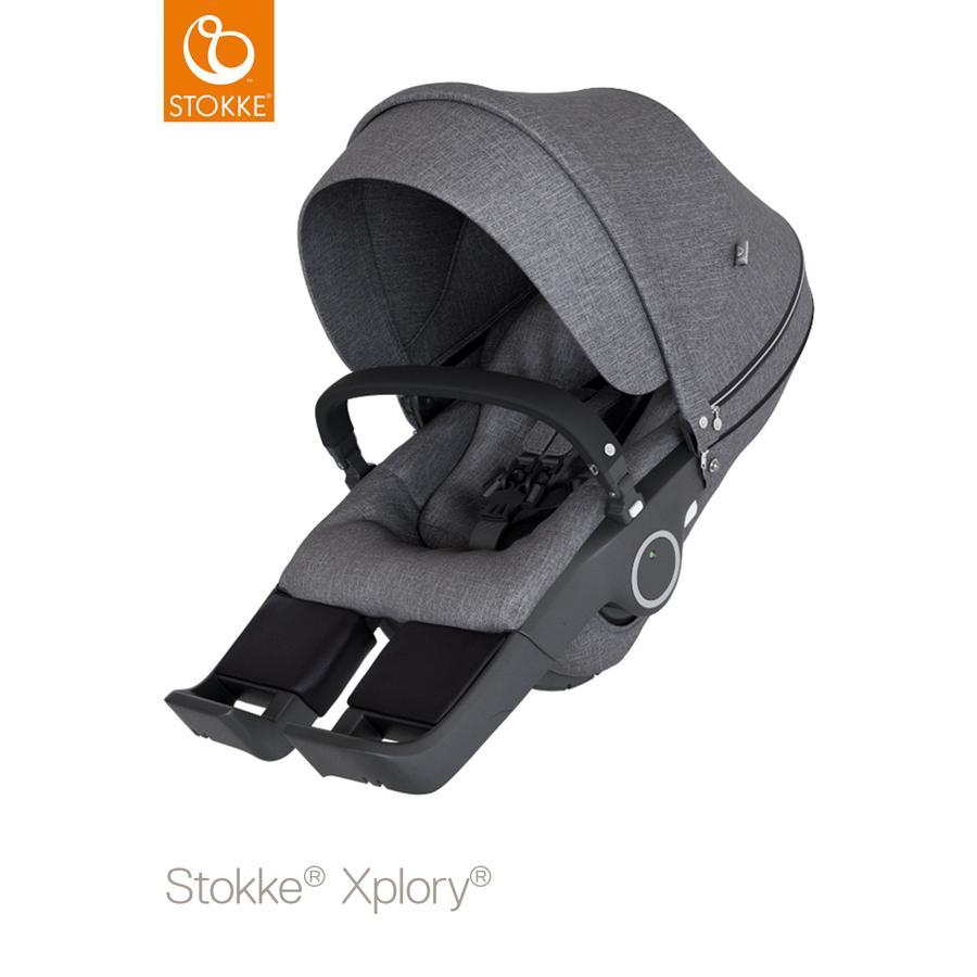 STOKKE® Sportwagenaufsatz Xplory® V6 und Trailz™ Black Melange