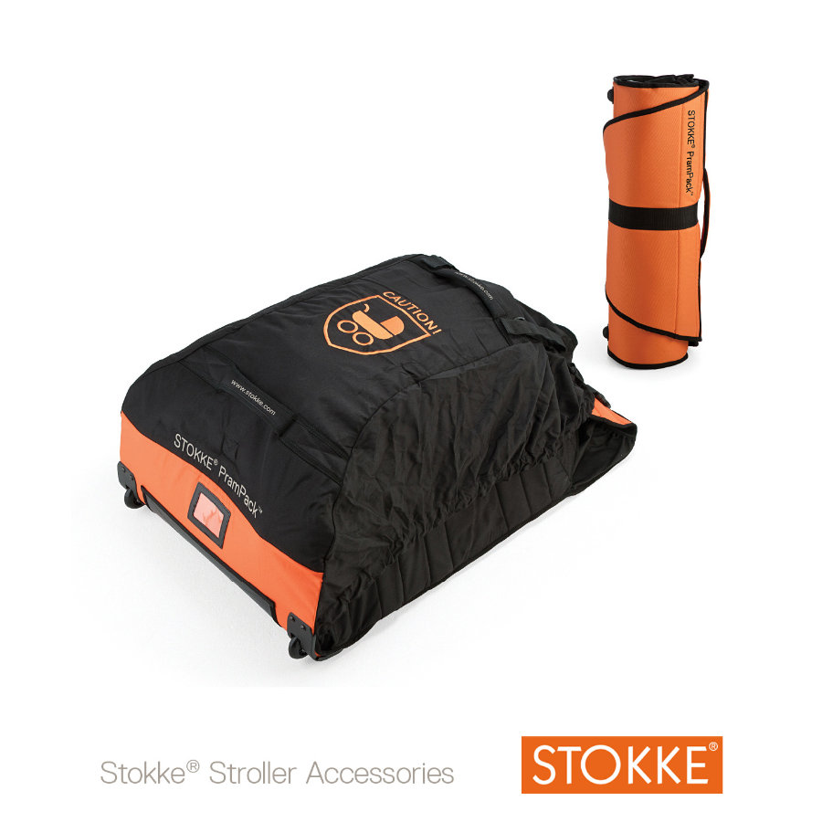 STOKKE® PramPack™ Reisetasche Orange/Black