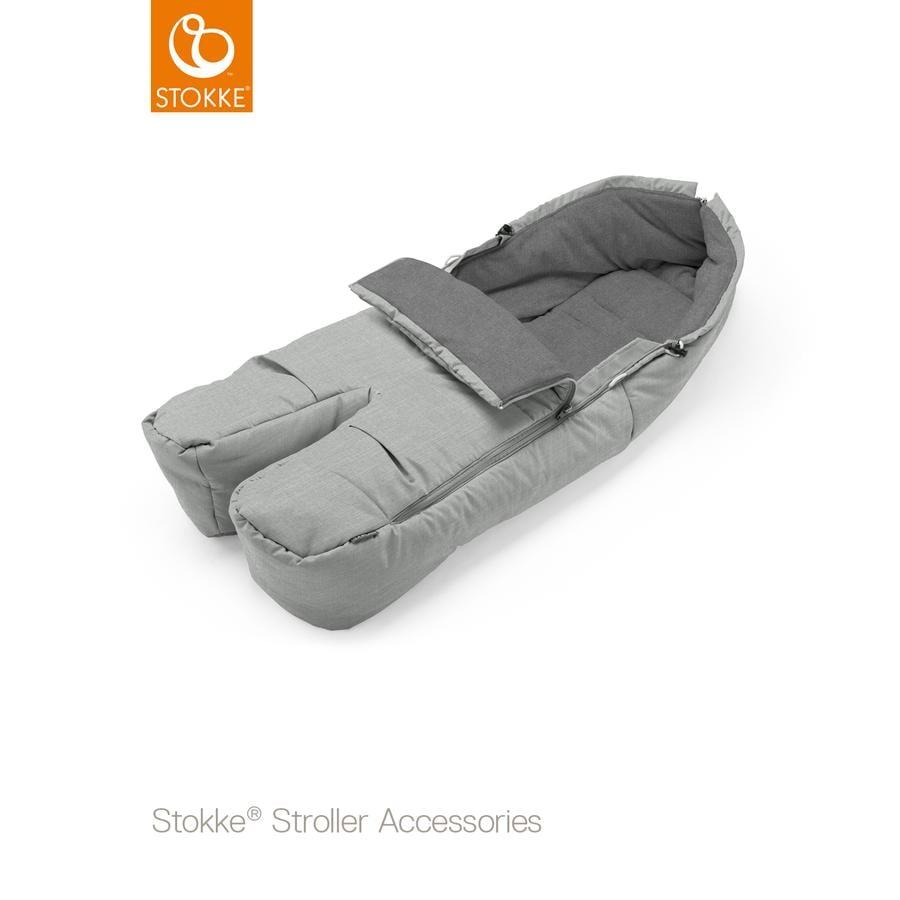 STOKKE® Fußsack Grey Melange